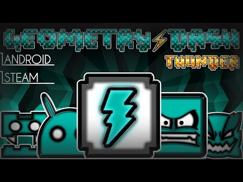 Geometry Dash 2.1 | EPIC Texture Pack - THUNDER | REMAKE | RELEASE | CLAIMED1