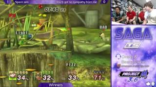 SAGA - Space Jam vs. You'll Get No Sympathy From Me - Winners - Project M