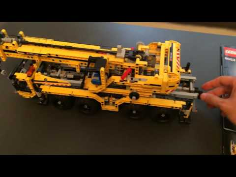 Lego technic 8053 Mobile Crane with instructions, 100% complete II part