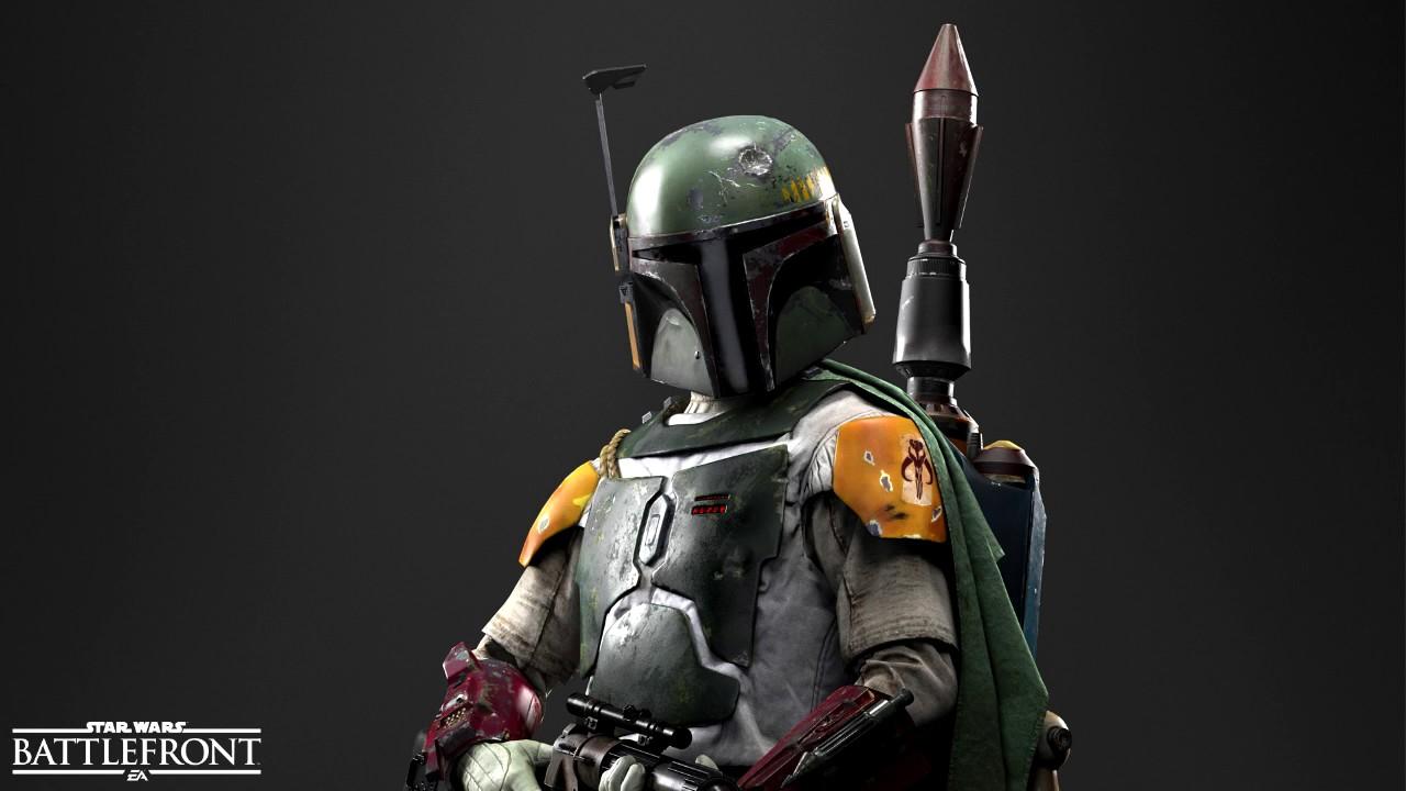 Star Wars Battlefront 2 Boba Fett