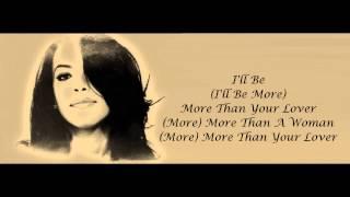 aaliyah more than a woman lyrics hd