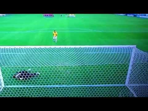 Brasil VS Chile - Decisão por pênalti  - COPA DO MUNDO 2014
