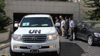 Удар Запада по Сирии сдерживают эксперты ООН (новости)