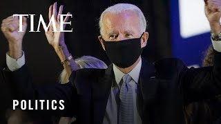 Reactions Throughout the U.S. After Biden Wins Presidential Race in Unprecedented Election | TIME