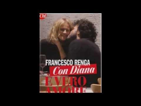 Francesco Renga baci appassionati a Diana