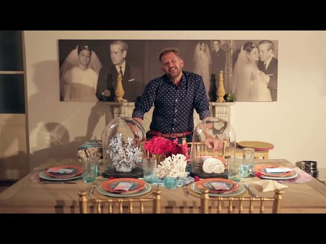 VISTE TU MESA! Ramiro Arzuaga y una mesa con la nueva tendencia de Corales!