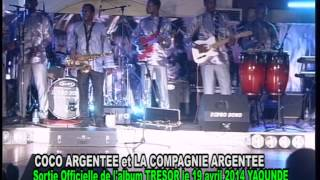 COCO ARGENTEE CONCERT SORTIE OFFICIELLE ALBUM TRESOR 2014
