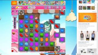 Candy Crush Level 1622 (Perfect Steps) in 1.30 Minutes