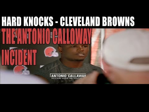 Hard Knocks : Cleveland Browns - The Antonio Callaway Incident Traffic Stop