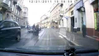 Пешеход идиот Львов