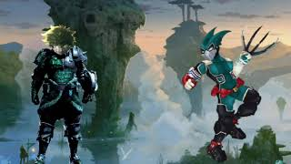 what if deku was a hunter from monster hunter world part 2