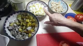 Готовим легкий салат