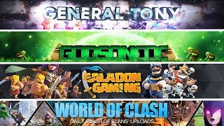 Top 10 Clash of Clans YouTubers! (Must Watch)