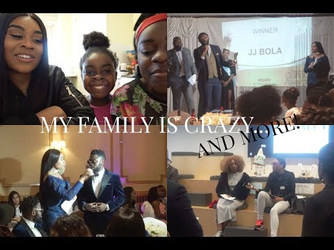 VLOG: MY FAMILY IS CRAZY, CARI CONNECT & BEST OF CONGO AWARDS!! | TIMEFORTEE