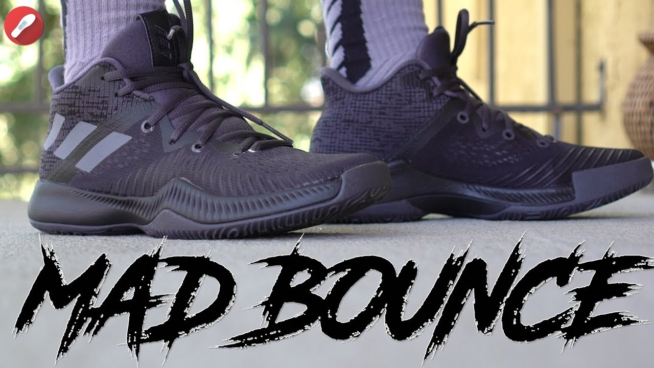 the latest 01cd8 c018d Adidas Mad Bounce First Impressions!