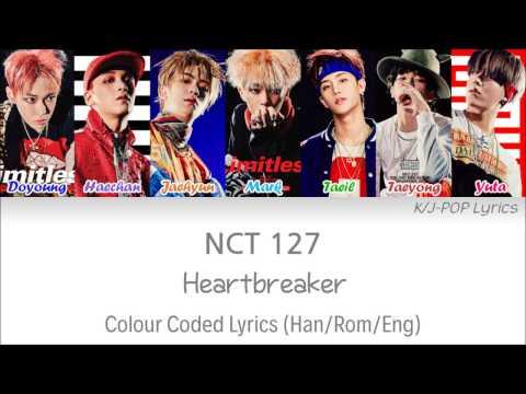 NCT 127 (엔씨티 127) - Heartbreaker (롤러코스터) Colour Coded Lyrics (Han/Rom/Eng)