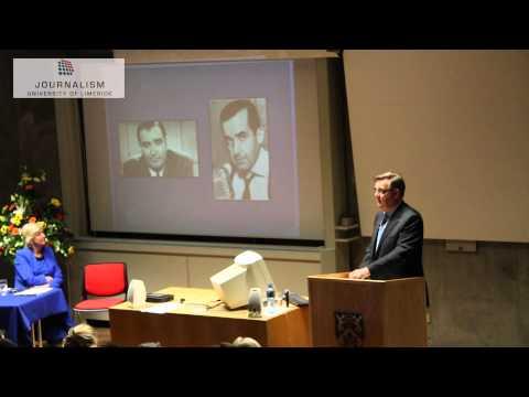 Bryan Dobson — Inaugural Lecture as UL Adjunct Professor in Journalism
