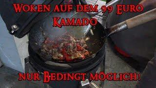 📷 99 EURO KAMADO | Teil 3 | Wok - Test / nur Bedingt möglich! | Grill & Chill / BBQ & Lifestyle