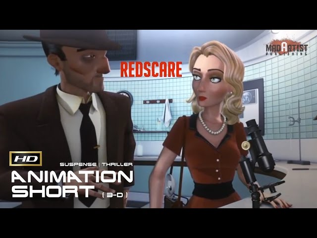 RedScare  | 3D CGI Film Noir - Mysterious Animated Short by Jérémy Guerrieri