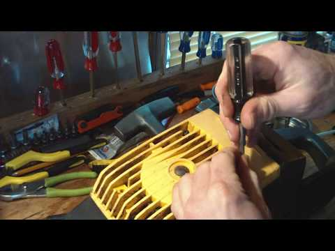 Repeat McCulloch 110 Chainsaw Assembly (not as bad as you think!) by