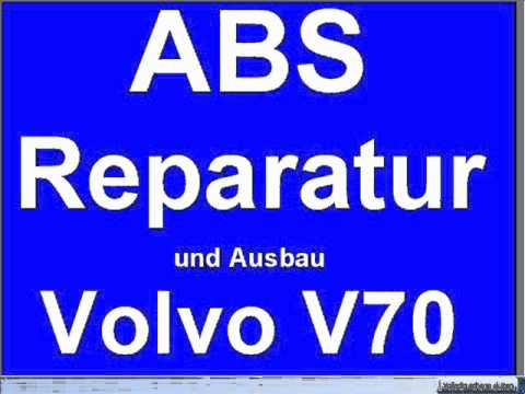 ausbauen abs pumpe reparatur steuergeraet volvo v70 850. Black Bedroom Furniture Sets. Home Design Ideas