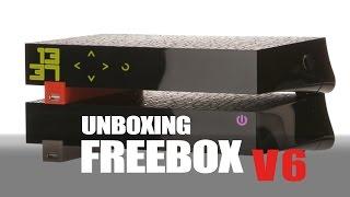 Unboxing : Freebox Revolution V6, installation, démarrage serveur