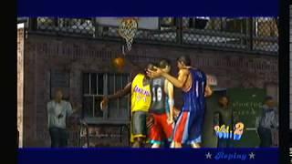 NBA Street Vol. 2 - PlayStation 2 PS2 - Intro Gameplay Shaq Kobe