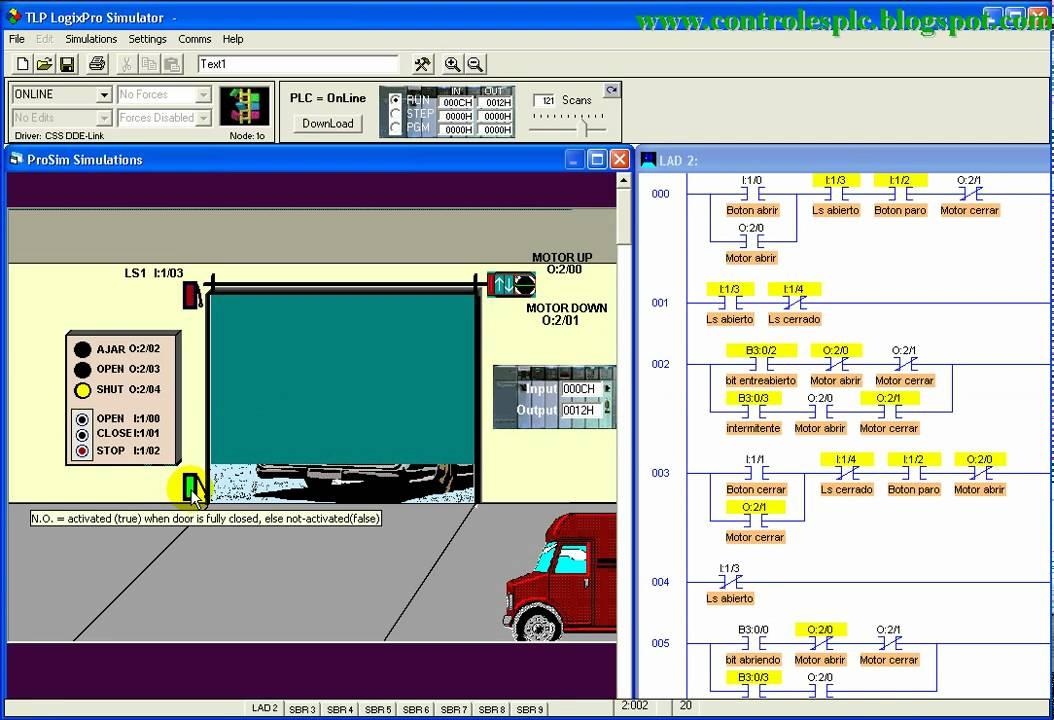 4 Logixpro Door Simulator