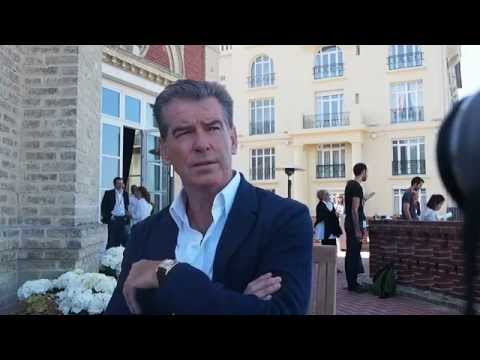 Interview Pierce Brosnan For The November Man