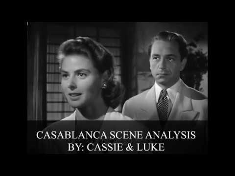 casablanca scene analysis