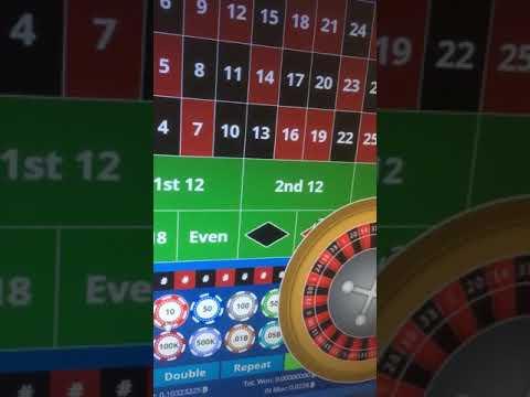 €500 Red - Bitvest.io - Real Bitcoin Casino Roulette