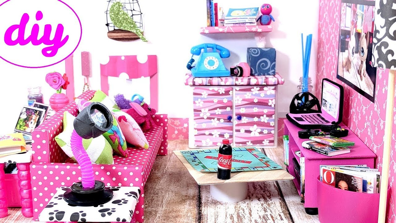 картинки комната для кукол лол многих