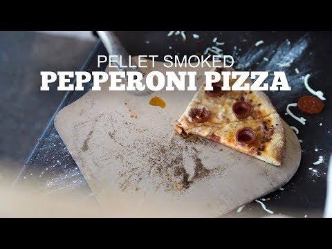 Artisan Style Pepperoni Pizza