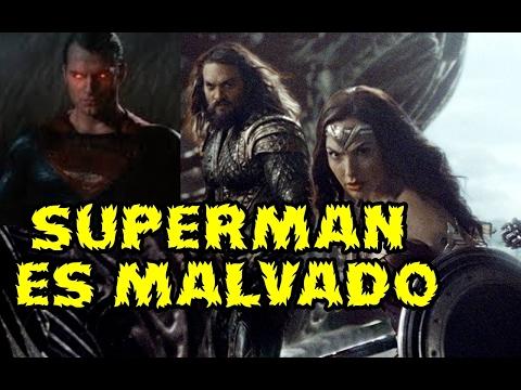 JUSTICE LEAGUE SUPERMAN ES MALVADO Y RESUCITADO POR STEPPENWOLF  A LAS ORDENES DE DARKSEID TEORIA