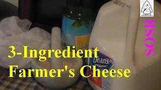Making Farmer's Cheese