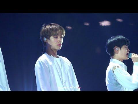 190124 워너원 WANNA ONE Therefore Concert - Beautiful Part 2(4K focus. 박지훈 Park Ji Hoon)
