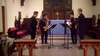 J.S. Bach Italian Concerto Movement 1 – Meraki Quartet