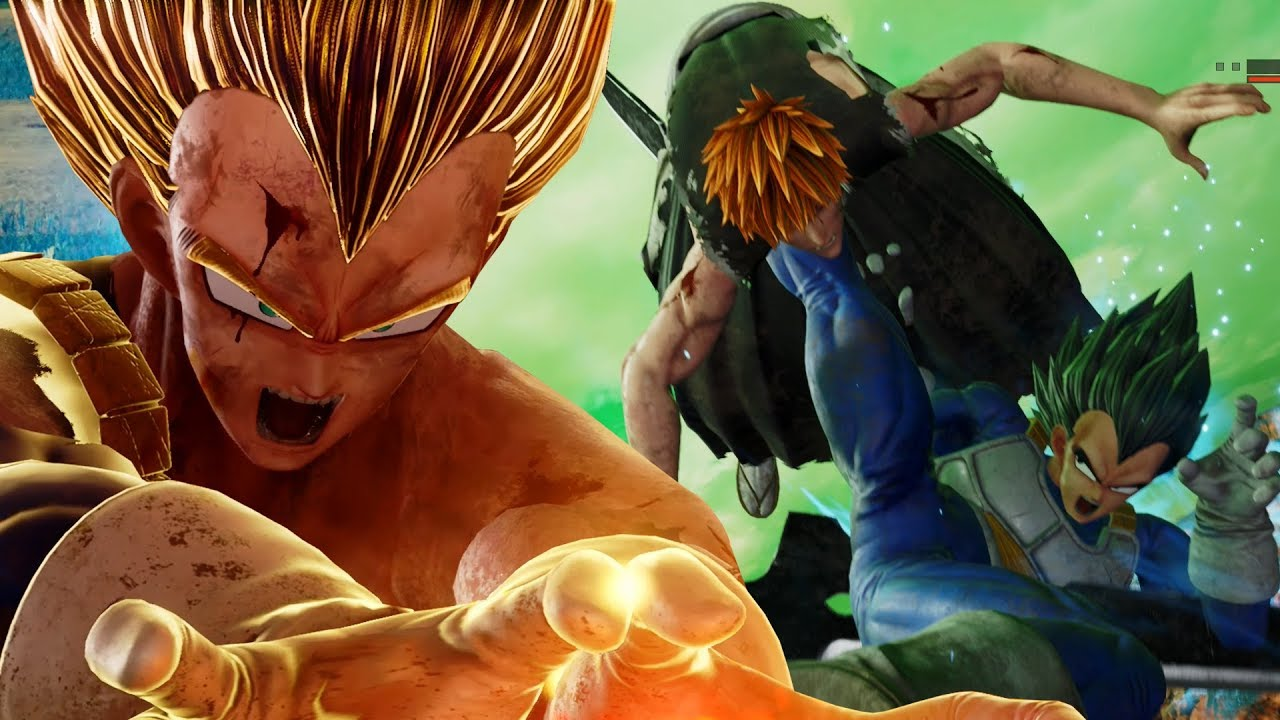 THE MIGHTY PRINCE OF ALL SAIYANS!!! Jump Force Closed Beta Vegeta Gameplay!