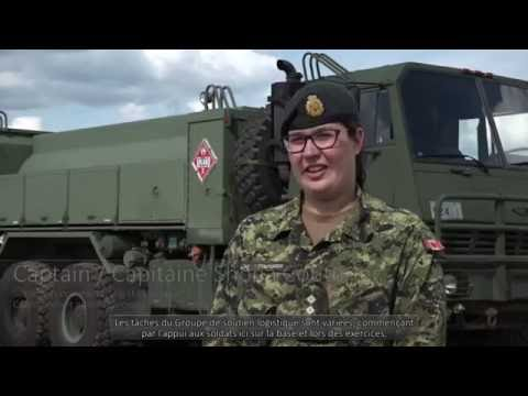 CANADIAN FORCES UPDATE: OPERATION REASSURANCE - Addressing the logistical needs