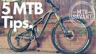 5 MTB tips to get your riding season started!