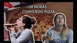 24 HORAS COMIENDO PIZZA / Andrea casallas