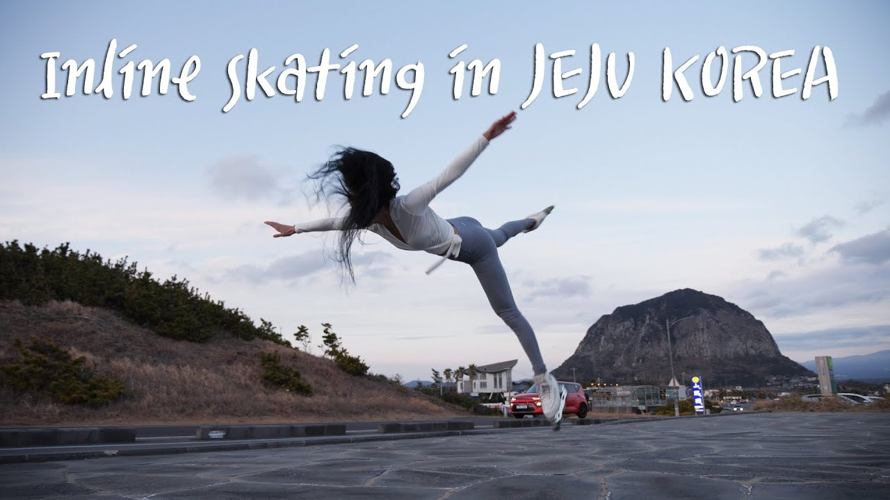 Inline Skating in JEJU KOREA : 제주도+인라인=???