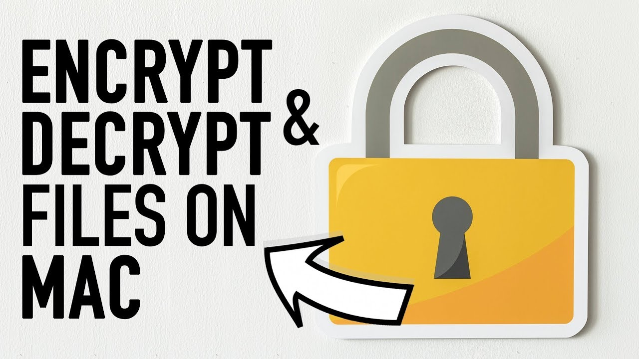 How to Encrypt and Decrypt Files on Mac [Quick Tip 👍]