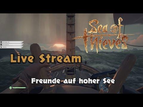 Sea of Thieves [001] 🌊 Freunde auf hoher See (Livestream - 20.03.2018)