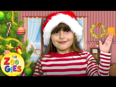 The Zoogies - If You're Happy 🎅  And You Know It Clap Your Hands | Christmas Nursery Rhymes