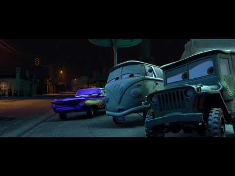 Cars (2006) Police Chase