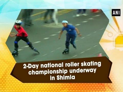 2-Day national roller skating championship underway in Shimla - Himachal Pradesh News