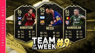 FIFA 20 TOTW 9 Predictions | IF Messi this week surely?! | TOTW 9 Prediction Fifa 20