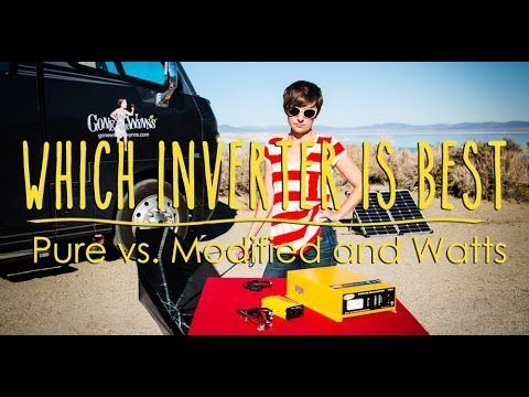 How to Select the Best Inverter for an RV