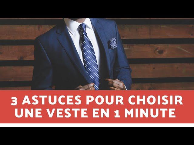 3 astuces pour choisir un blazer homme en moins d'1 minute